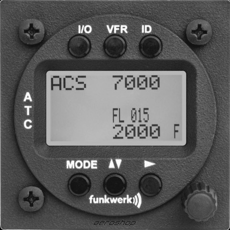 Transpondeur TRT800H Funkwerk Funke écran LCD